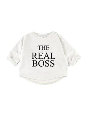 "Bluza ""the real boss"""