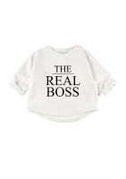 "Bluza ""the real boss"""