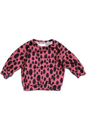 Bluza print pink leopard