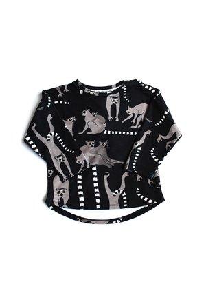Bluza print lemurs