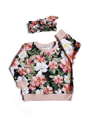 Bluza print powder flowers