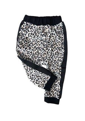 Spodnie velvet Leopard