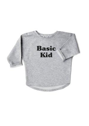 "Bluza "" basic kid"" Szara"