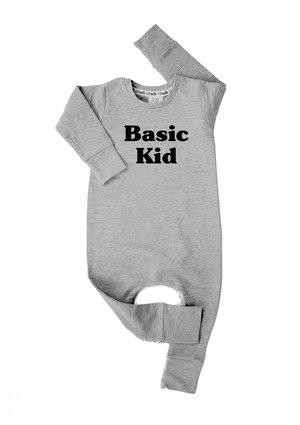 """Romper długi rękaw """" basic kid"""" Szary"""