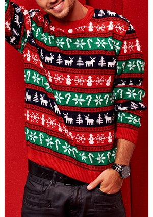 SWEATER WINTER TIME COLORS DAD