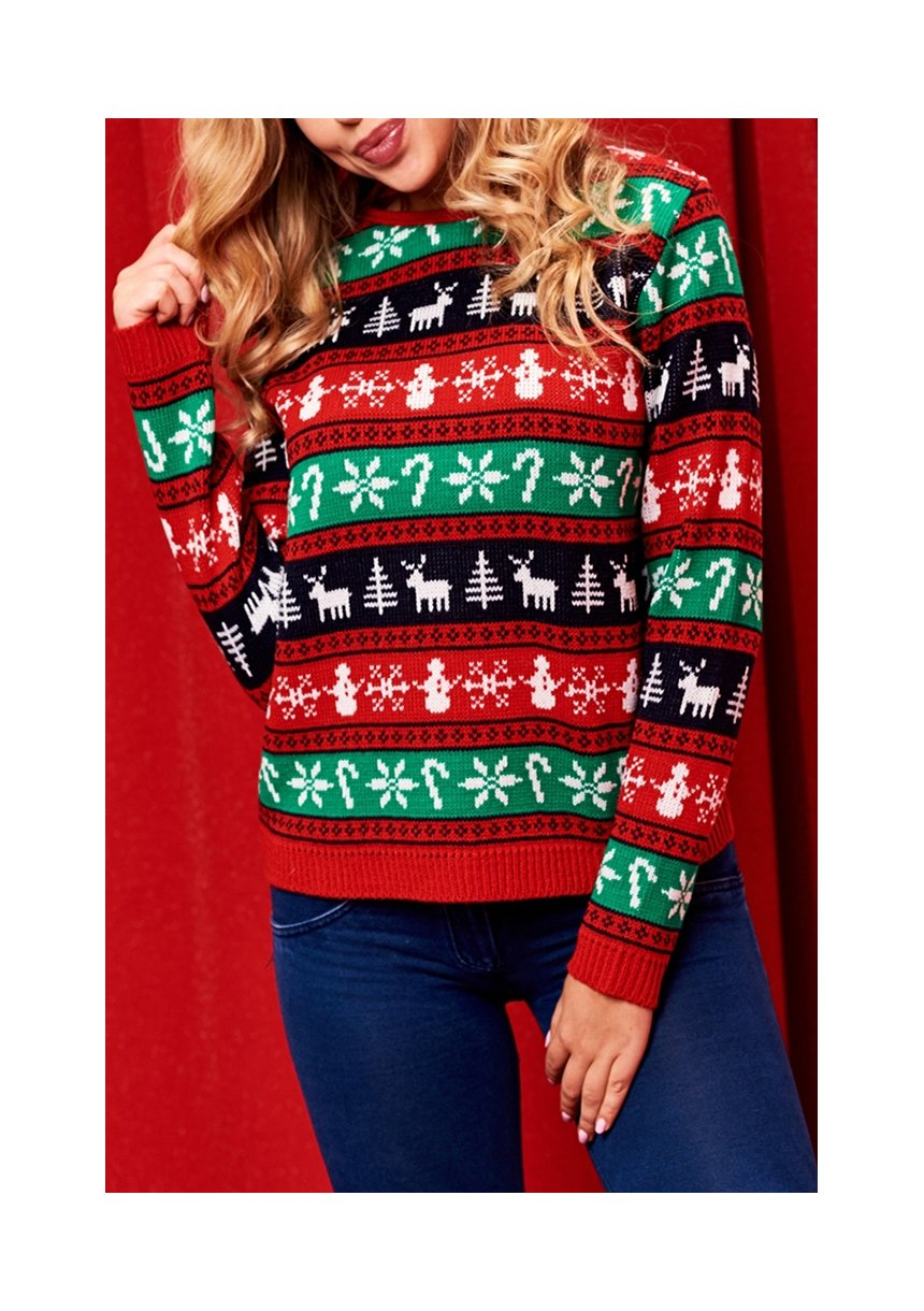 SWEATER MAMA WINTER TIME COLORS
