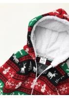 Sweterekowy onesie Winter Time Colors