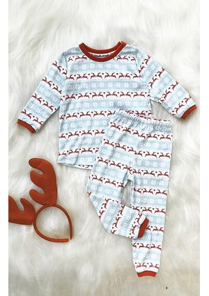 Piżamka dziecięca Pastel Deer