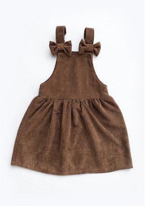 Sukienka dziewczęca ze sztruksu