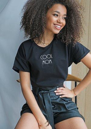 "T-shirt "" cool mom "" mama"