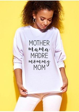 """Bluza mama """"..madre.."""""""