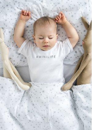 """T-shirt dziecięcy """" hasztag minilife"""""""