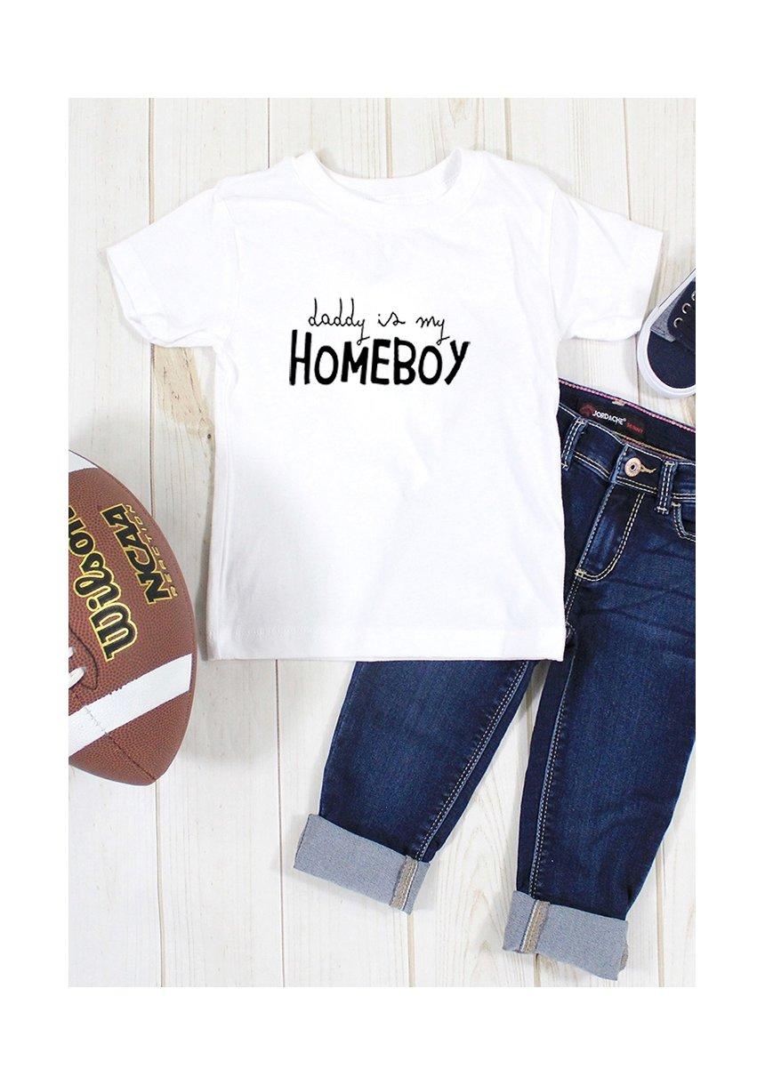 """T-shirt dziecięcy """" daddys is my homeboy"""""""