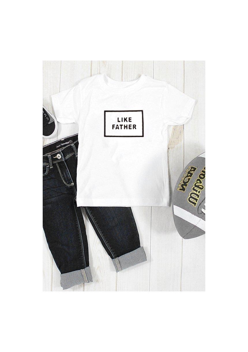 """T-shirt """" like father """""""