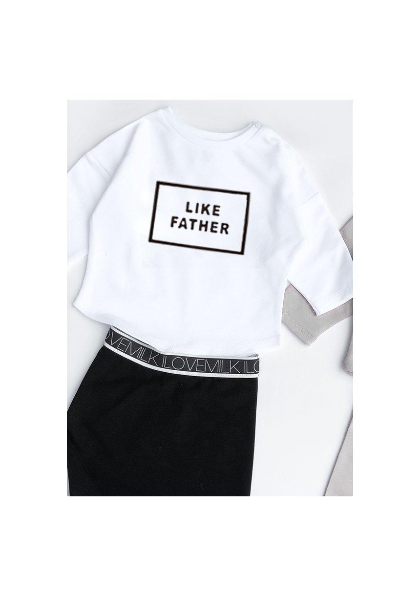 """Bluza dziecięca """"like father"""""""