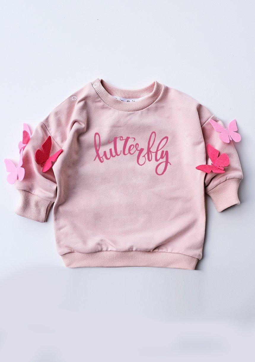 """Bluza dziecięca """" butterfly"""""""