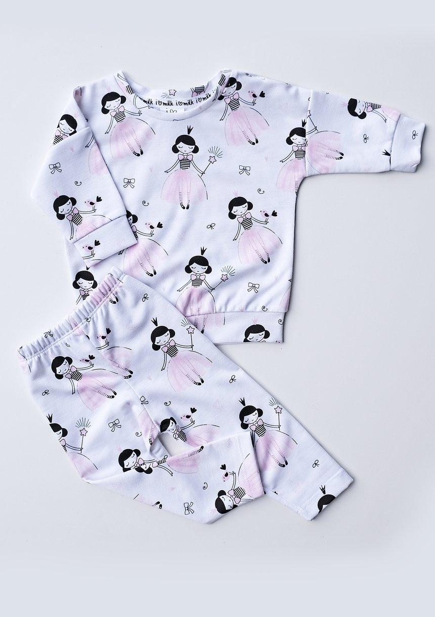 Bluza dziewczęca Princess print