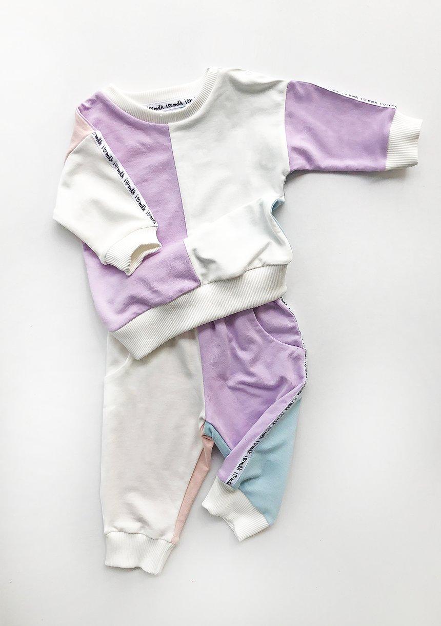 Spodnie dresowe dziecięce Candy pastel