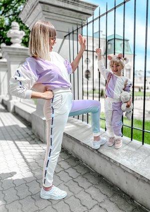 Bluza dresowa damska Candy pastel ILM
