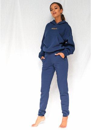 Dresowe spodnie damskie Monaco Navy ILM