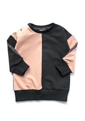 Bluza dziecięca Latte z lampasami black