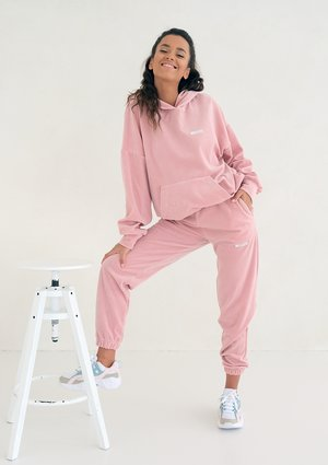 Velvet Women Sweatpants Mellow Rose