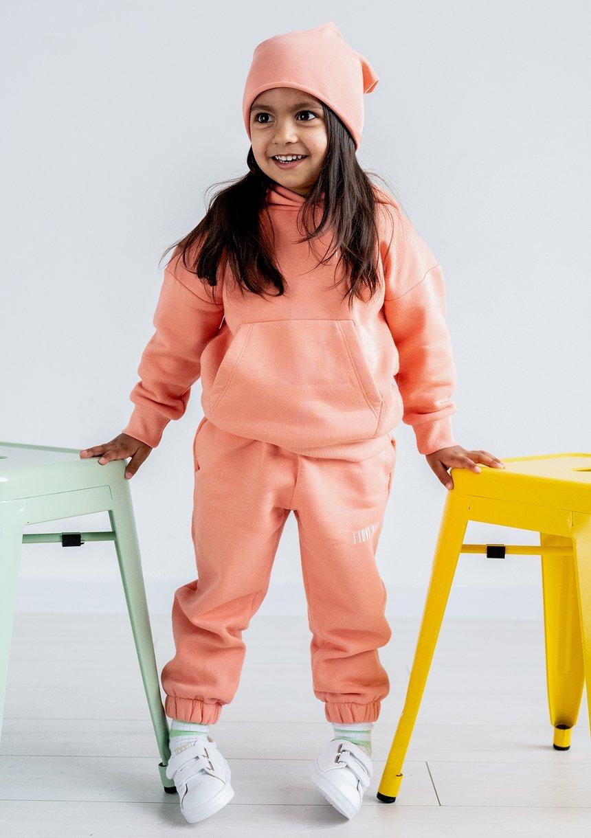 Kids sweatpants Coral Blush