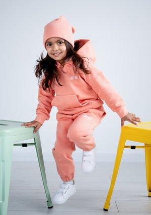 Dziecięca bluza  z kapturem Coral Blush
