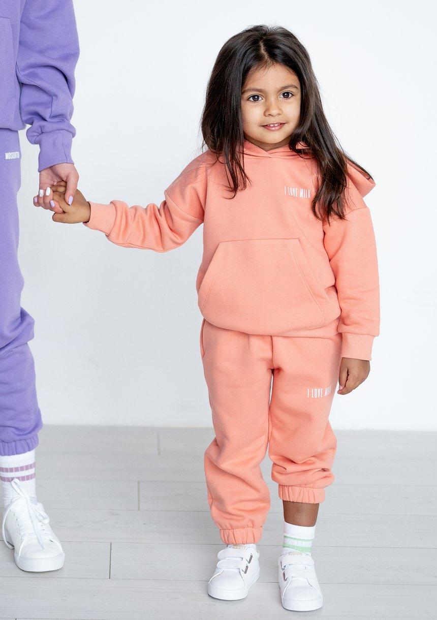 Kids Hoodie Coral Blush