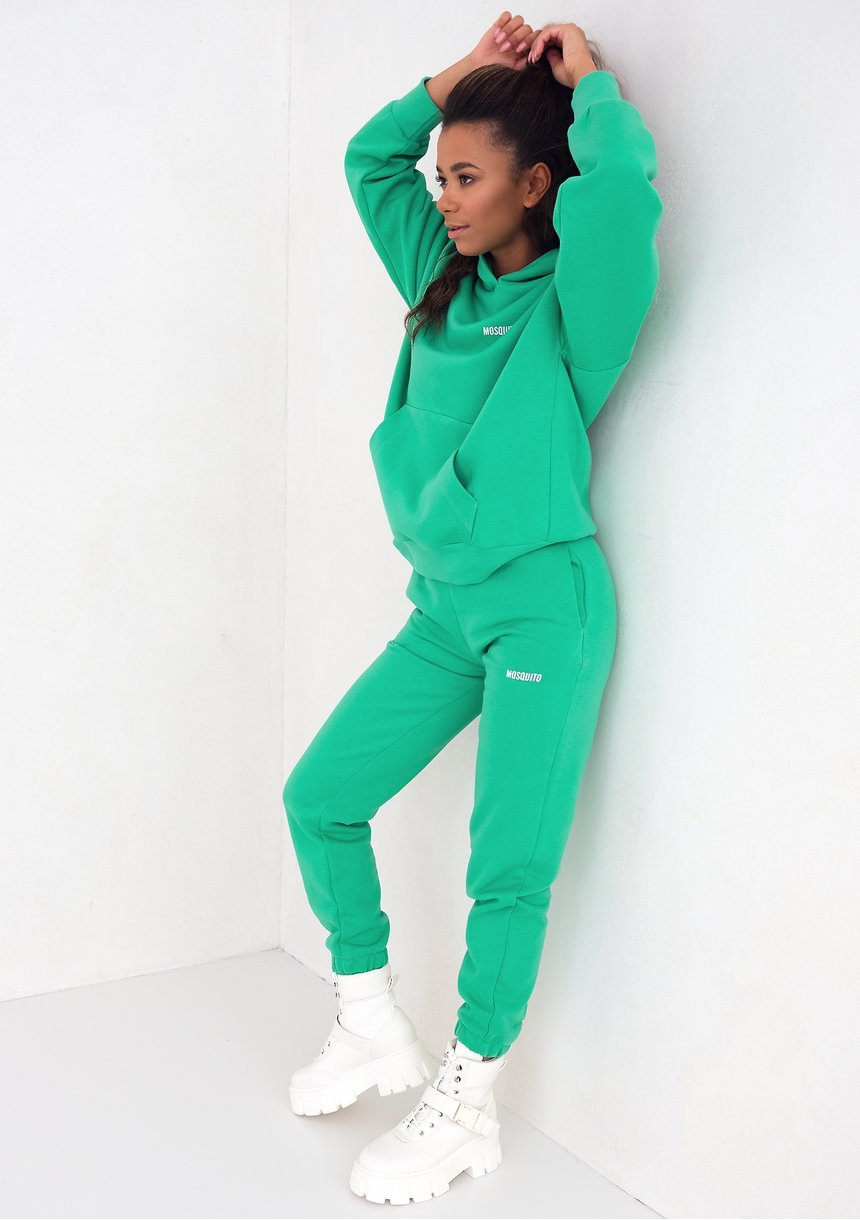 Mum sweatpants Lush Green