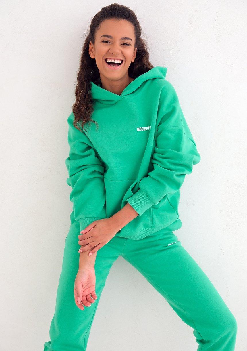 Bluza z kapturem Lush Green ILM