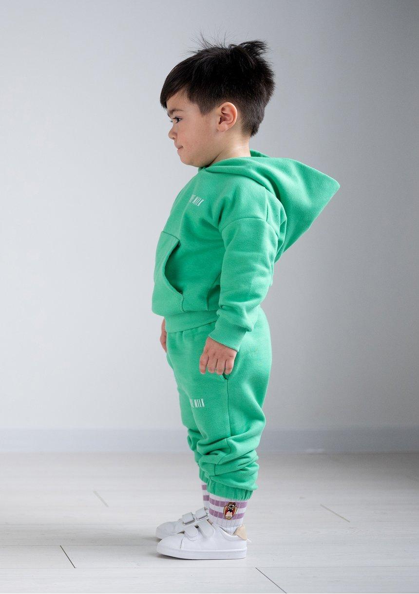 Kids sweatpants Lush Green