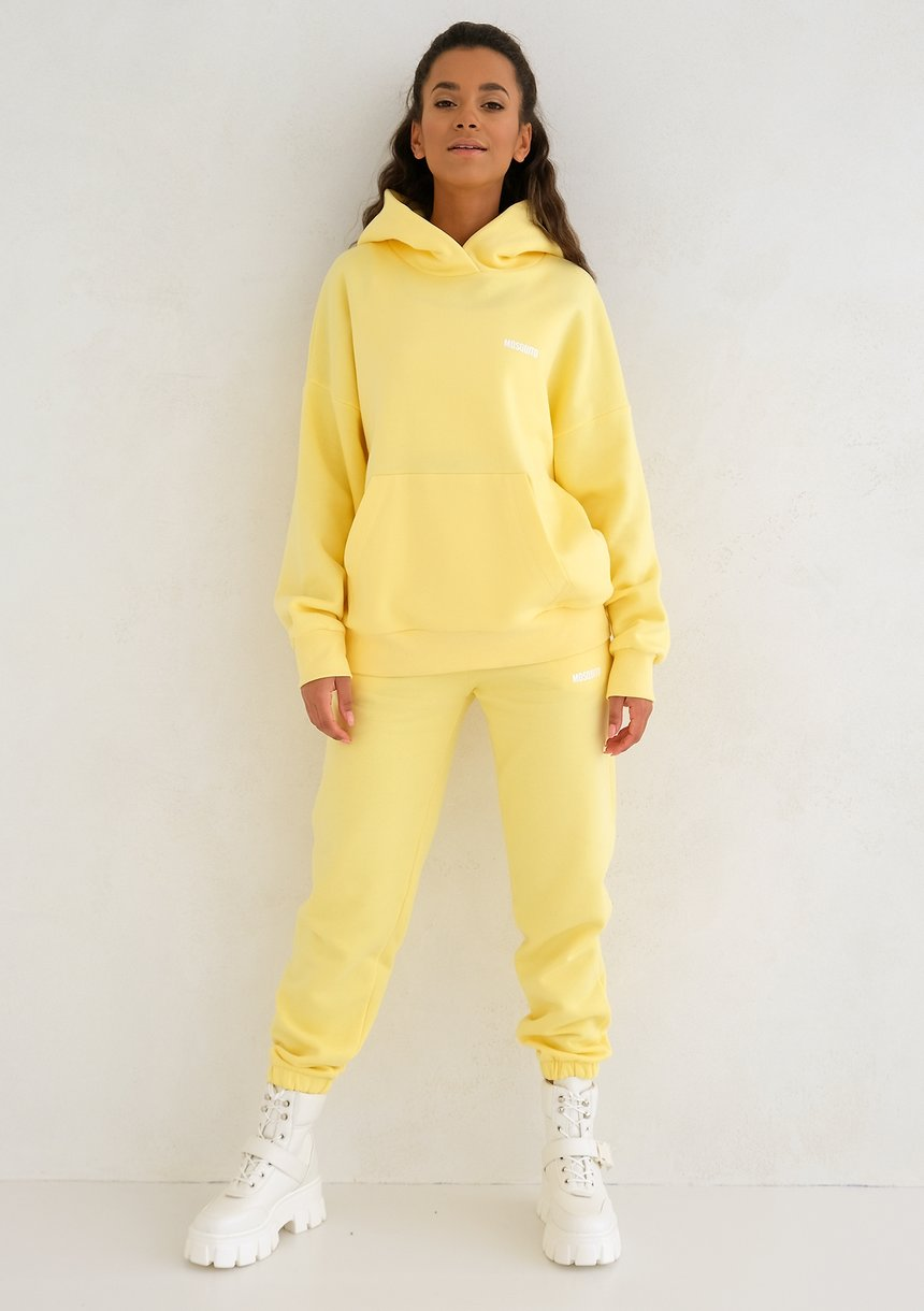 Mum Sweatpants Sour Yellow
