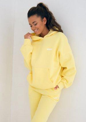 Bluza z kapturem Sour Yellow ILM