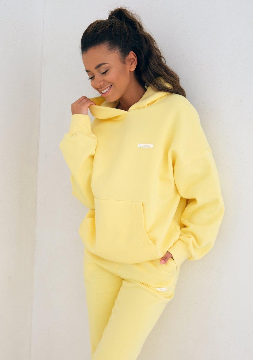 Mum Hoodie Sour Yellow