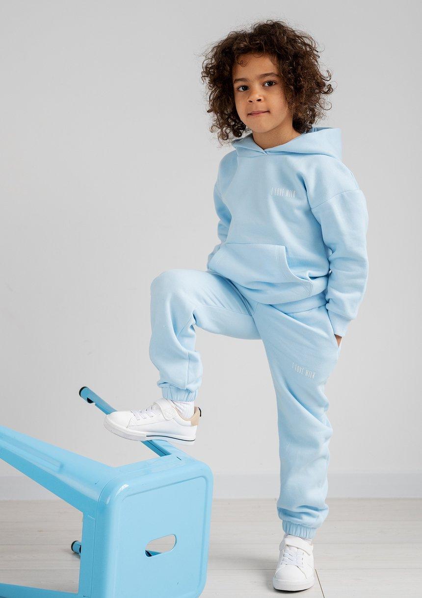 Kids sweatpants Baby Blue