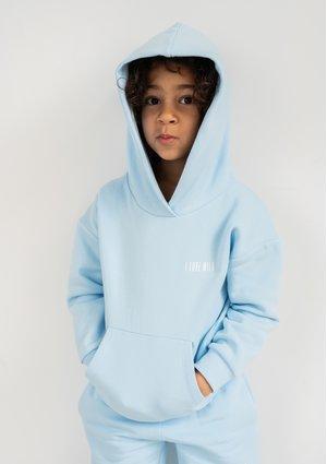 Dziecięca bluza  z kapturem Baby Blue