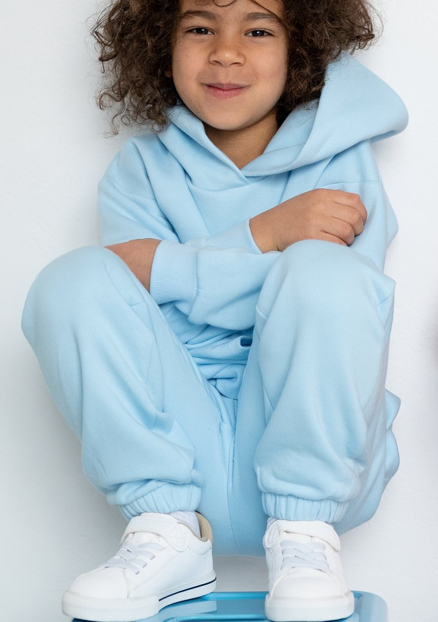 Kids hoodie Baby Blue