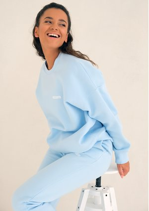 Mum simple sweatshirt Baby Blue