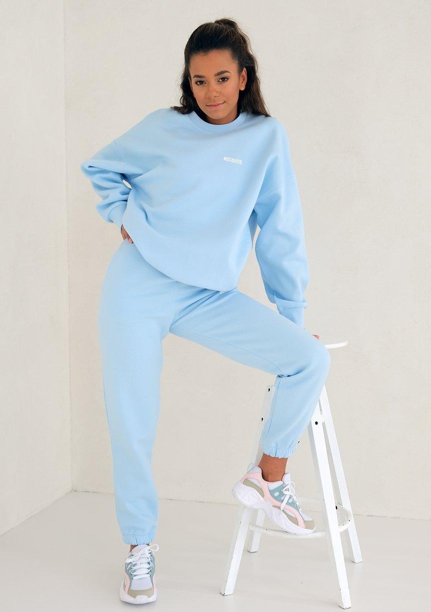 Mum simple sweatshirt Baby Blue