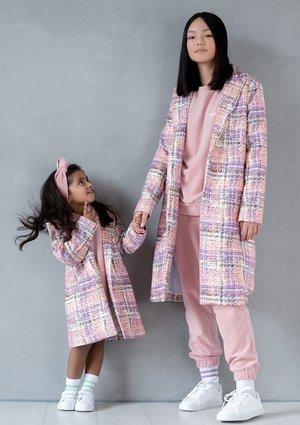 Płaszcz pastel print  MSQ