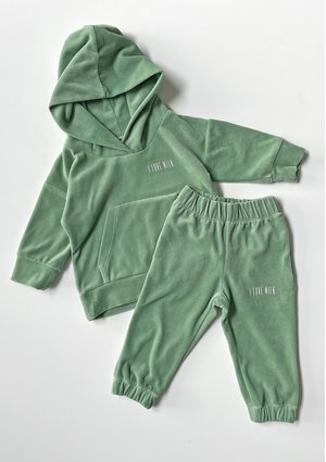 Velvet Kids Sweatpants Smoke Mint