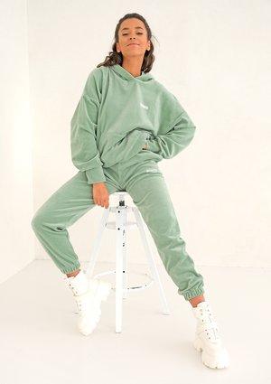 Spodnie welurowe Smoke Mint ILM