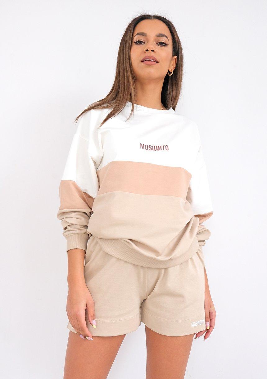 Bluza damska ze wstawką Nude ILM