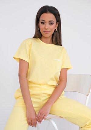 T-shirt Sour Yellow