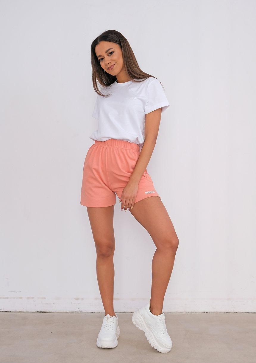 Women shorts Coral Blush