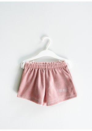 Girls velvet shorts Mellow Rose