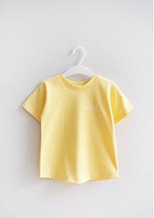 Kids T-shirt Sour Yellow