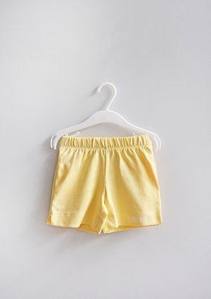 Szorty dziecięce Sour Yellow