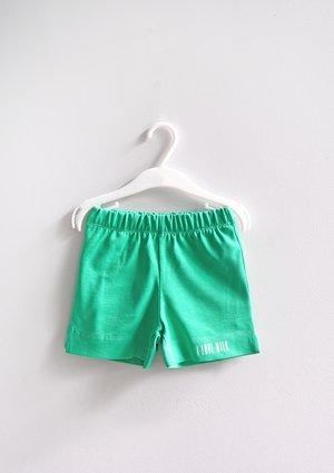 Kids shorts Lush Green